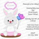 Personalized Baby Shower Invitation (babygirl2245)