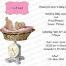 Personalized Baby Shower Invitation (babygirl2247)
