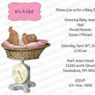 Personalized Baby Shower Invitation (babygirl2248)