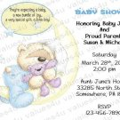Personalized Baby Shower Invitation (babyboy1233)