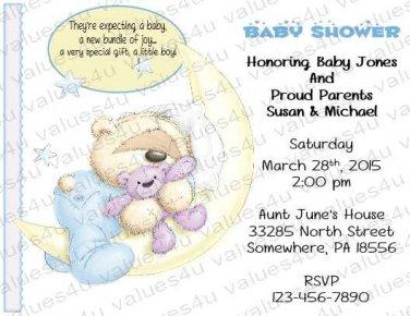 Personalized Baby Shower Invitation (babyboy1233)