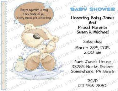 Personalized Baby Shower Invitation (babyboy1234)