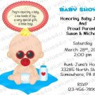 Personalized Baby Shower Invitation (babyboy1237)