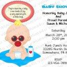 Personalized Baby Shower Invitation (babyboy1237)