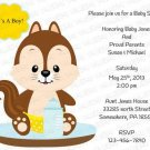 Personalized Baby Shower Invitation (babyboy1240)