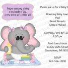 Personalized Baby Shower Invitation (babygirl2252)