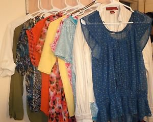 Lot of womens tops blouses shirts size S some NWT