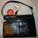 Womens Style&co. large black wristlet Ready Set Go NWT