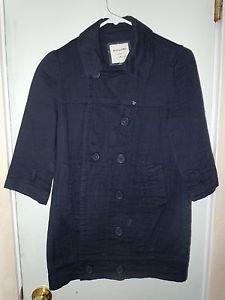 Womens black Heritage 1981 jacket coat size M