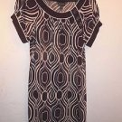 Womens En Focus Studio brown/white dress size 12