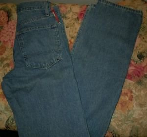 Arizona Jeans Mens Size 26x36 Relaxed Fit Straight Leg Stonewash NWT