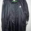 Mens Black Track Printed Russell AthleticJacket Big Men Size 2X (50-52) NWT