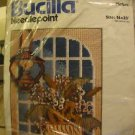 Vintage arts crafts Bucilla needlepoint kit Country Glow #4312