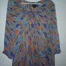 Womens Nicole by Nicole Miller blouse size XL