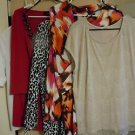 Lot of womens tops shirts blouses size XL
