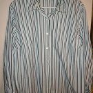 Womens Plus Style & Co long sleeve button front blouse dress shirt size 18W