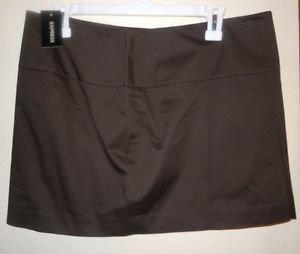 Juniors womens brown Express Design Studio Mini Skirt size 10 NWT