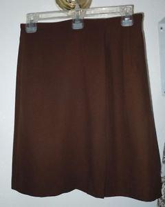 Womens Brown INC skirt size 6