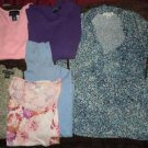 Lot of  womens tops shirts sweaters size Small Claiborne Charter Club Apostrophe