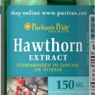 HAWTHORN EXTRACT STANDARDIZED 150MG BLOOD PRESSURE HEALTH SUPPLEMENT 100 CAPSULE