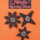 ninja costume stars set 3 #25188 black