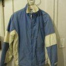 Juniors Womens Old Navy blue white ski snowboard winter snow jacket size L