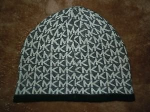 Michael Kors MK Signature beanie hat one size fits all