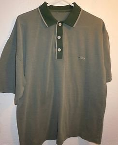 Mens Quicksilver green polo shirt size S