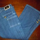 Juniors Old Skool dark wash Capri jeans size 5/6