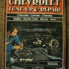 VINTAGE PETERSEN'S 1978 CHEVROLET TUNE-UP & REPAIR MANUAL MALIBU CHEVELLE NOVA