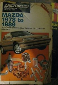 Haynes Auto Repair Manual Mazda 1978-1989 #6981