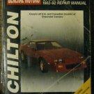 Chilton General Motors Camaro 1982-92 Repair Manual #28282