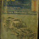 Haynes Auto Service Repair Manual for Ford Courier Pick-up 1972-1978