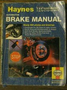Haynes Techbook Brake Manual #2112 Owners Auto Service Repair Book