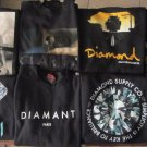 Mens Diamond Supply Co Black Pullover Sweatshirt Size XL *PICK YOUR CHOICE*