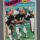 1977 Football Topps #235  Ken Anderson  Bengals