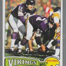 1977  Fran Tarkenton Topps Football Card  # 400  Minnesota Vikings