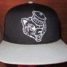 Motivation MTVTN Mascot Snapback Adjustable Cap Hat Black/Grey
