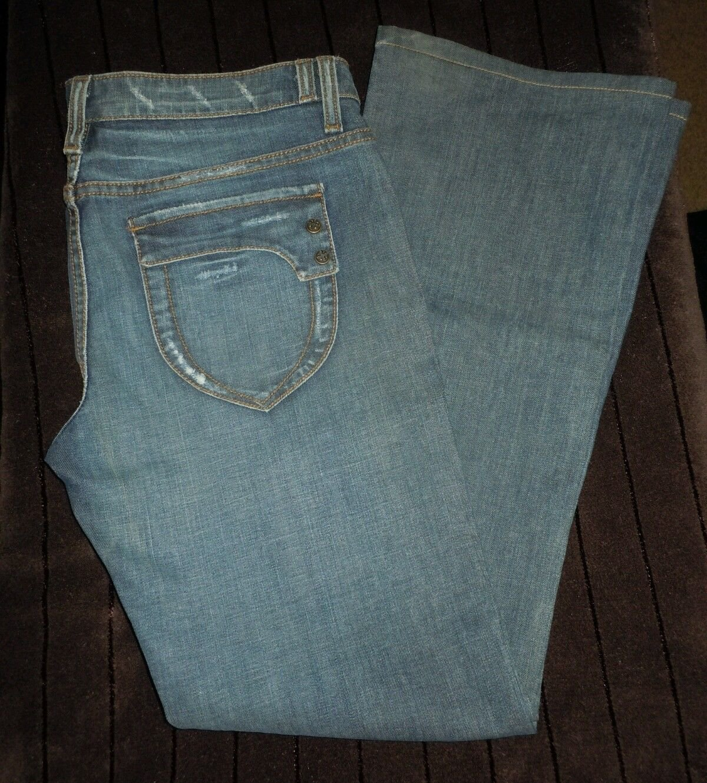 Womens Juniors Duarte Boot Cut blue denim jeans size 30