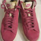 Girls Nike Hi Tops Pink/White Size 7.5