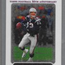 2005 Tom Brady  Topps chrome  # 46 New England Patriots Football