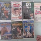 Lot of 9 Disney Kids Family Movies VHS Tapes