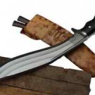 Gurkha Iraqi Brown Gripper Guard Handle Kukri,3 Fullers Blade Khukuri Nepal
