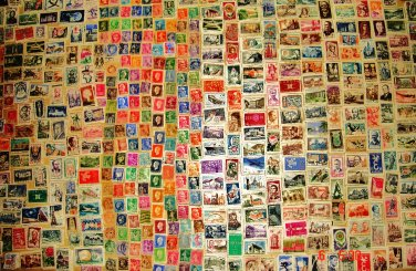 Lot of more than 5000 postage stamps from France / 1870 - 1970