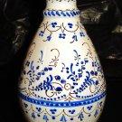 """Vintage Spanish ceramic vase - Signed """"CRUZ - Puente del Arzobispo"""""""