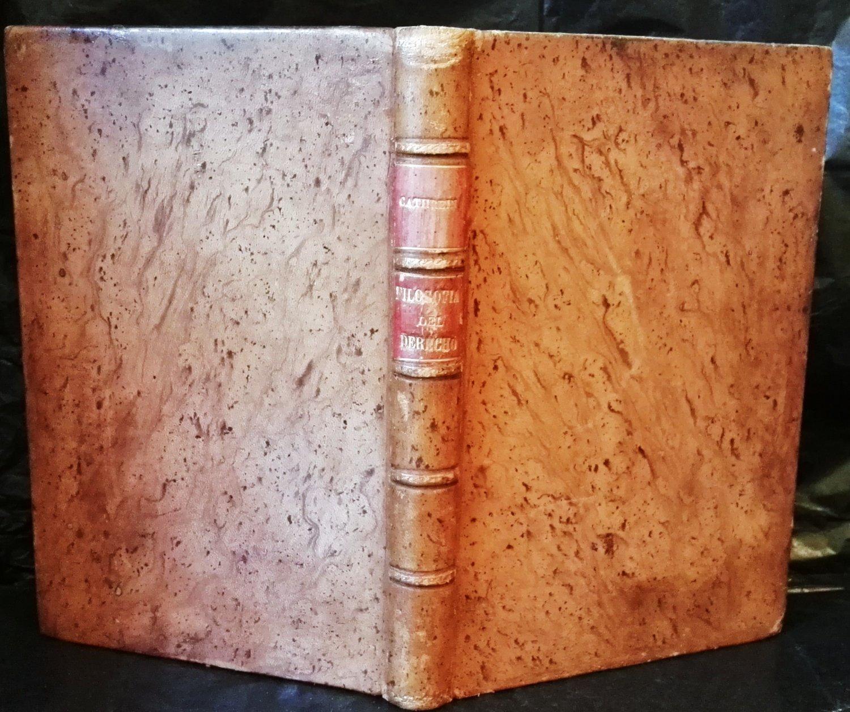 Book / Filosofía Del Derecho By Víctor Cathrein / 1916, Spanish.
