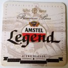 AMSTEL Legend beer coasters