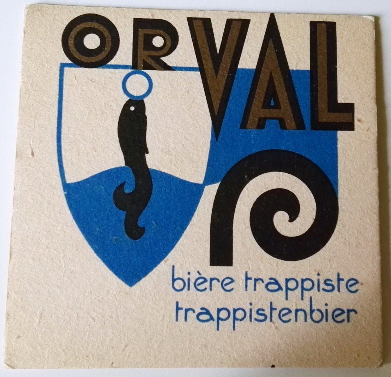 ORVAL beer coasters