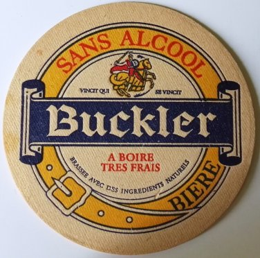 BUCKLER coasters without alcohol