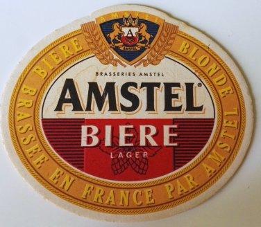 AMSTEL beer coasters